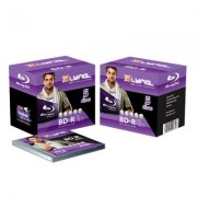 Bluray Xlyne   25GB 5pcs  BD-R  jewel case 4x