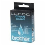 Brother LC50C Ink Cartridge cyan original + neu