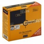 CD-R  Intenso 700MB  10pcs Slimcase
