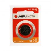 AgfaPhoto Batterie Knopfzelle CR2032 3.0V Lithium       1St.