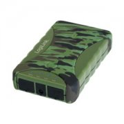 Mobile Powerbank LogiLink, 8800 mAh, outdoor IP54 Camouflage