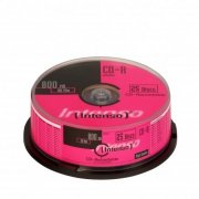 CD-R  Intenso 800MB  25pcs CakeBox multispeed